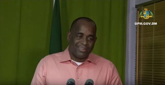 Roosevelt Skerrit marijuana dominica